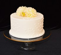 "10"" Gold Rimmed Centerpiece Stand"