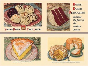 1930's Swans Down Cake Flour Cookbook