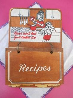 1960's Recipe Cards