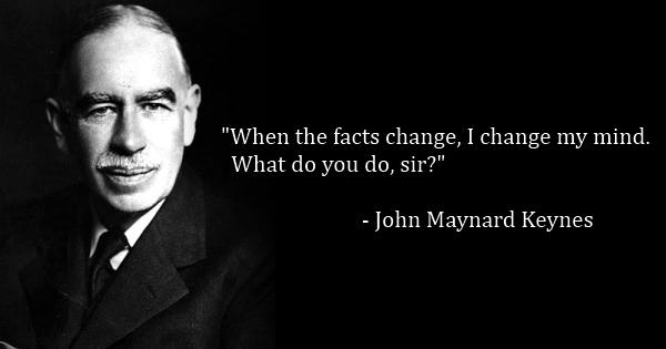 Keynes Change