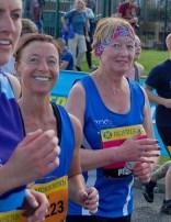 Lisa Hall and Susan Blackburn