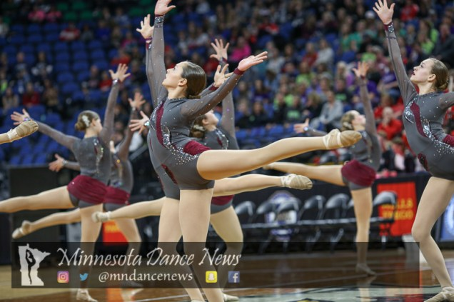 St. Cloud Tech performs at the 2017 MSHSL Jazz Tournament. (Photo Credit: Rick Corwine/MN Dance News)