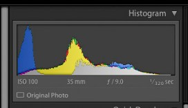 Image One Histogram