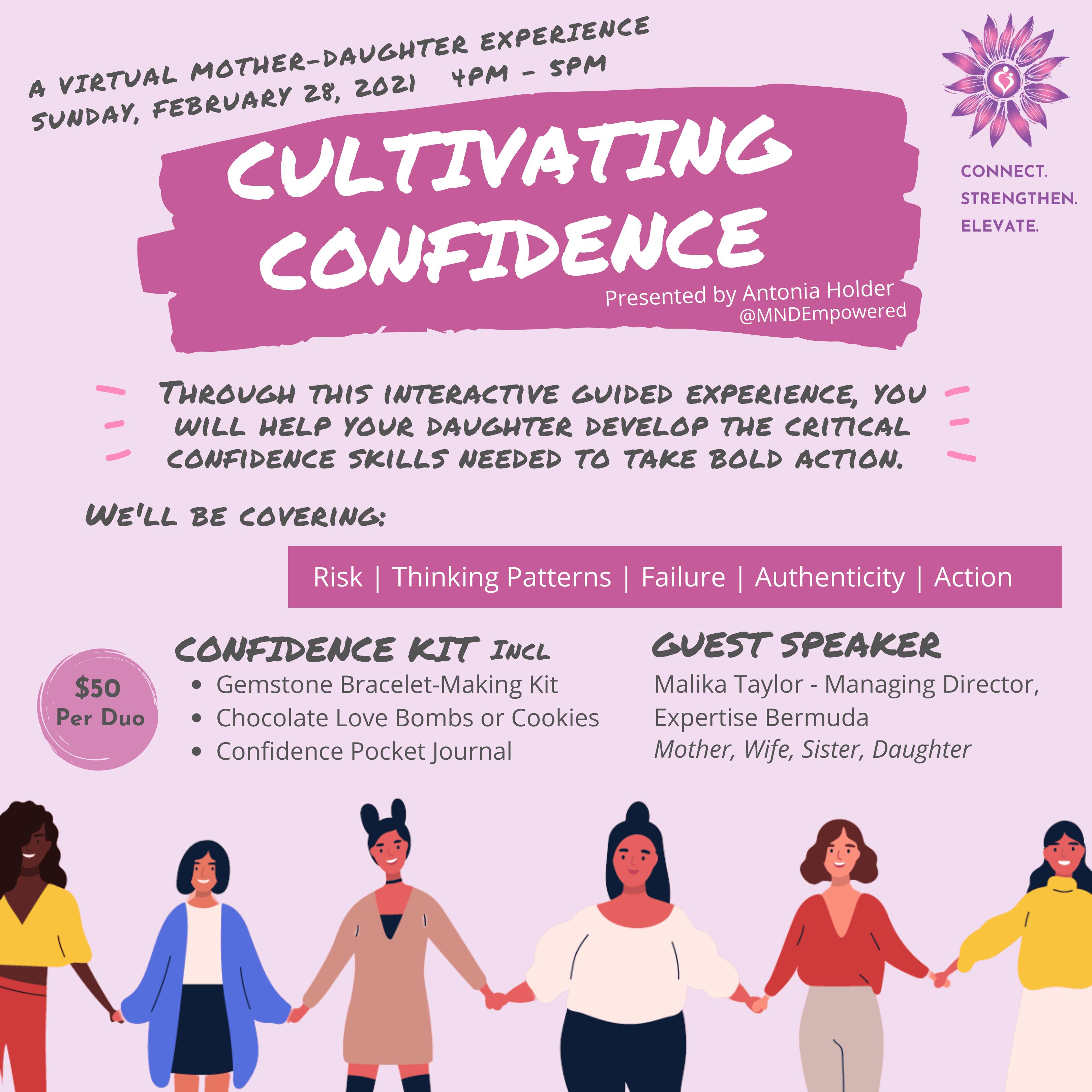 Cultivating Confidence Virtual Program | MNDEmpowered.com