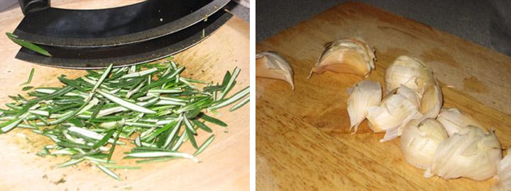 garlic-rosemary