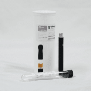 Silver Vape Cartridge