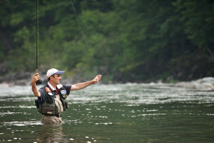Fishing and Fly-fishing.  Seize the adventure!