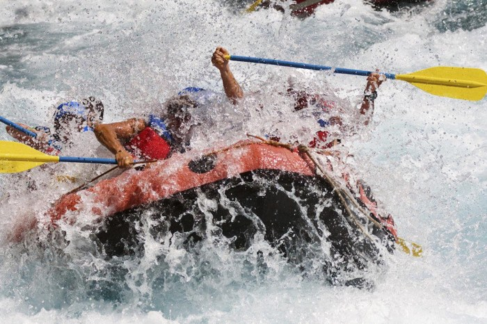 Rafting: Experience the wild waters adventure