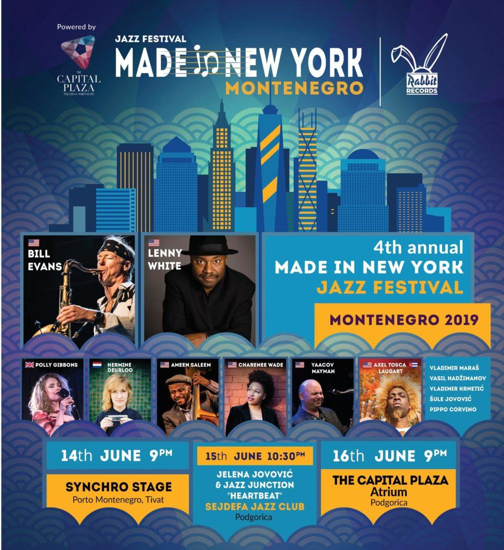 Made in NY Jazz Festival Montenegro 2019