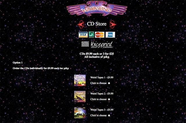Hawkwind CDs