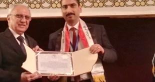 الاستاذ الدكتور ليث الحكيم يحصل على المركز الاول للعلوم الاجتماعية للسنة الثالثة على التوالي
