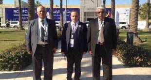 السيد عميد الكلية الاستاذ المساعد الدكتور قاسم العنزي يشارك في مؤتمر ملتقى الرافدين للحوار في محافظة بغداد
