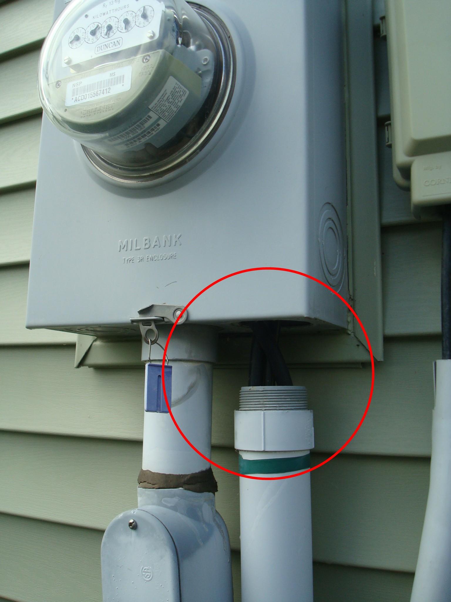 Wiring Meter Box