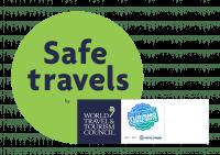 SAFE TRAVELS + TURISMO CONSCIENTE RJ - selo