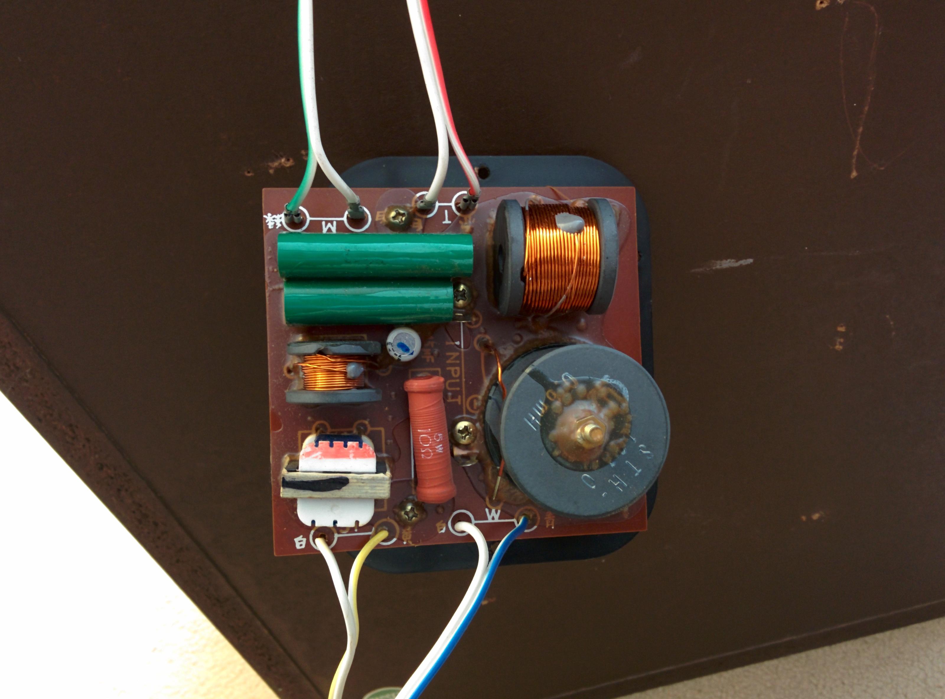 capacitor wiring diagram for 3 way light switch three pioneer hpm-100 loudspeakers restoration | audiophile vintage