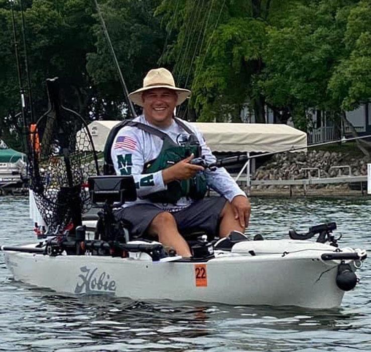 Douglas G. Kayak Fishing