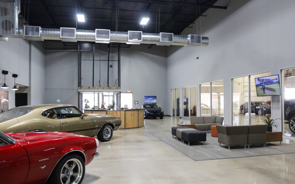 Dallas Lease Returns Car Dealership by MnKhan Architect
