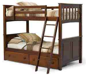 How to dismantle a bunk bed