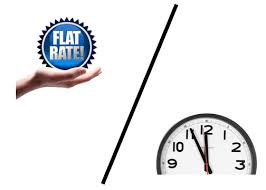 Flat Rate vs Hourly Rates