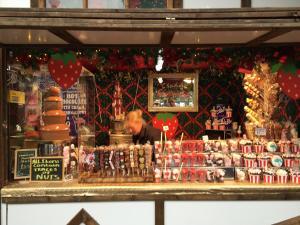 festive market Nottingham Christmas Winter Wonderland 2016