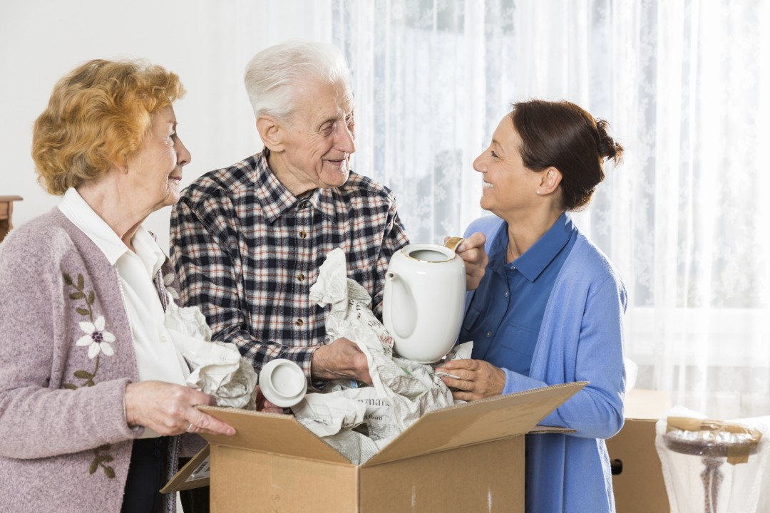 helping the elderly and senior citizens when moving home