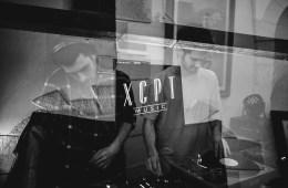 Techno DJs Nothus and Delikwe