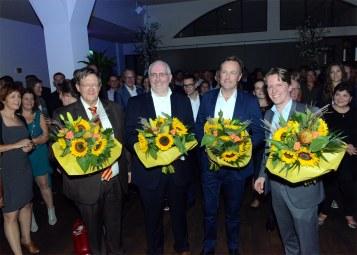 DEN HAAG 17-09-2016 NIEUWSPOORT BEKENDMAKING VAN DE PIONIERSPRIJS NA DINER ZEELAND / NIEUWSPOORT. FOTO JOS V LEEUWEN / PZC