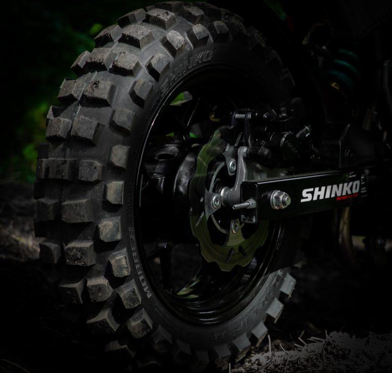 Shinko Mobber Knobby 12″ Tire | MNNTHBX