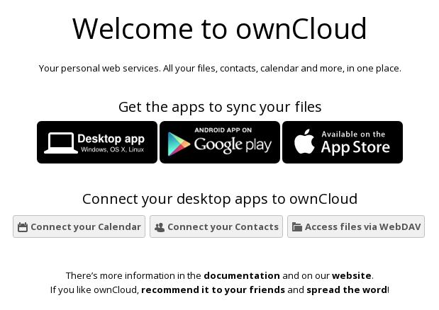 Собственное облако. Установка owncloud.