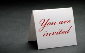 Picture of an invitation