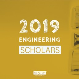 "Text: ""2019 engineering scholars"""