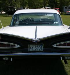 a back shot of tim swanson s 1959 chevy impala  [ 1752 x 1168 Pixel ]