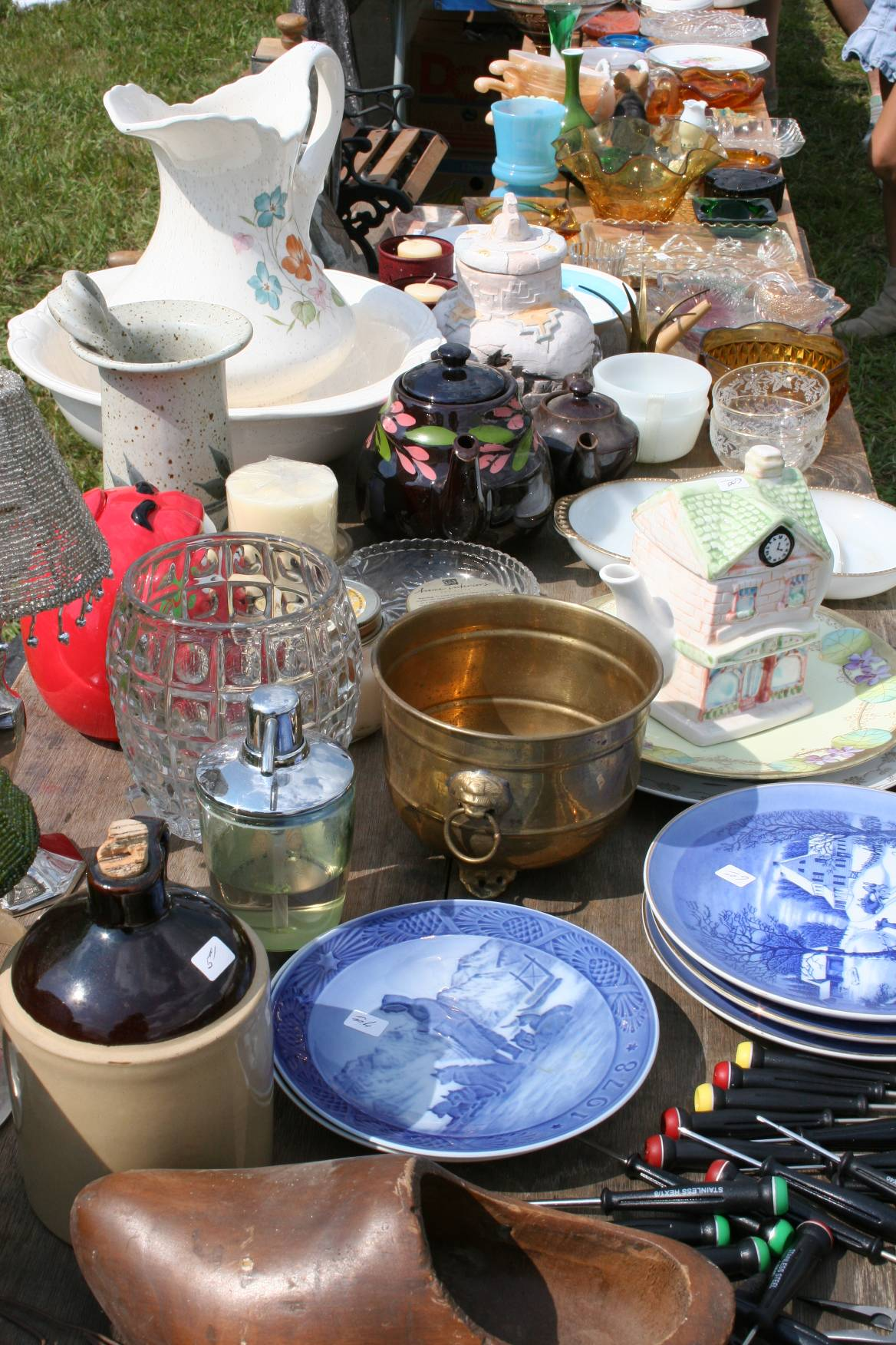 """Some call it """"junk."""" I prefer the word """"treasures."""""""