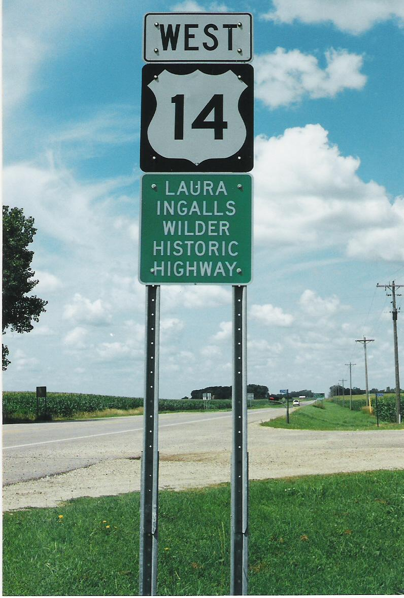Follow U.S. Highway 14, the Laura Ingalls Wilder Historic Highway, west to Walnut Grove, Minn., and then on to De Smet, S.D.
