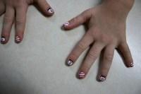 Christmas, painted nails | Minnesota Prairie Roots