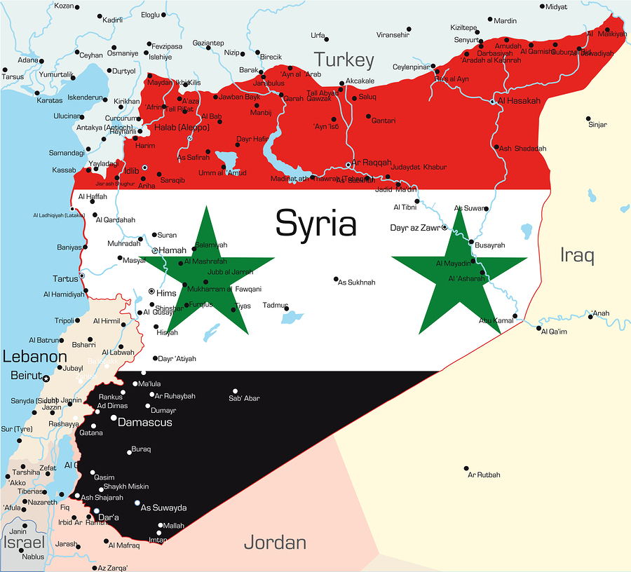 About syria syria on my mind a political map of syria retrieved from mnprogressiveproject gumiabroncs Gallery