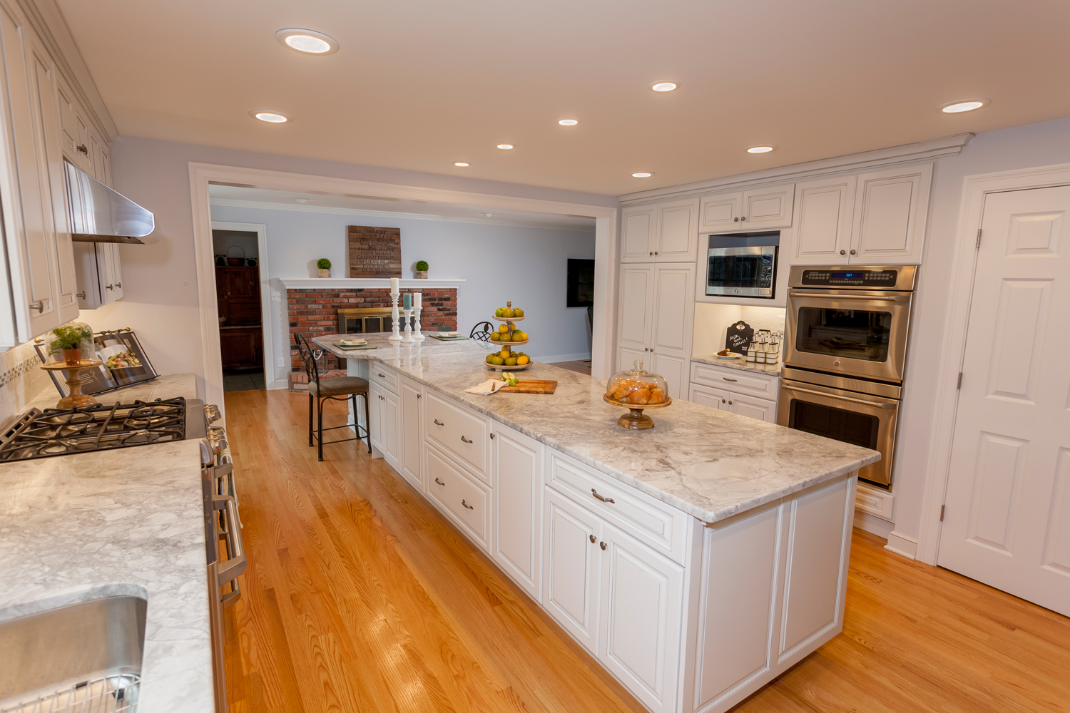 Before  After Open Concept Kitchen  Living Space  MN
