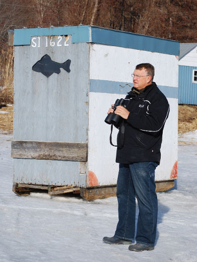 Eric DeSerranno of St. Williams reports that compliance with the March 15 deadline for removing ice fishing huts from Long Point Bay was much better this year than in 2014. That's good news for boaters as that reduces the risk of navigation hazards on Lake Erie once the ice disappears.