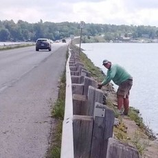 County looking to limit fishing along Bridgenorth causeway to deal with litter