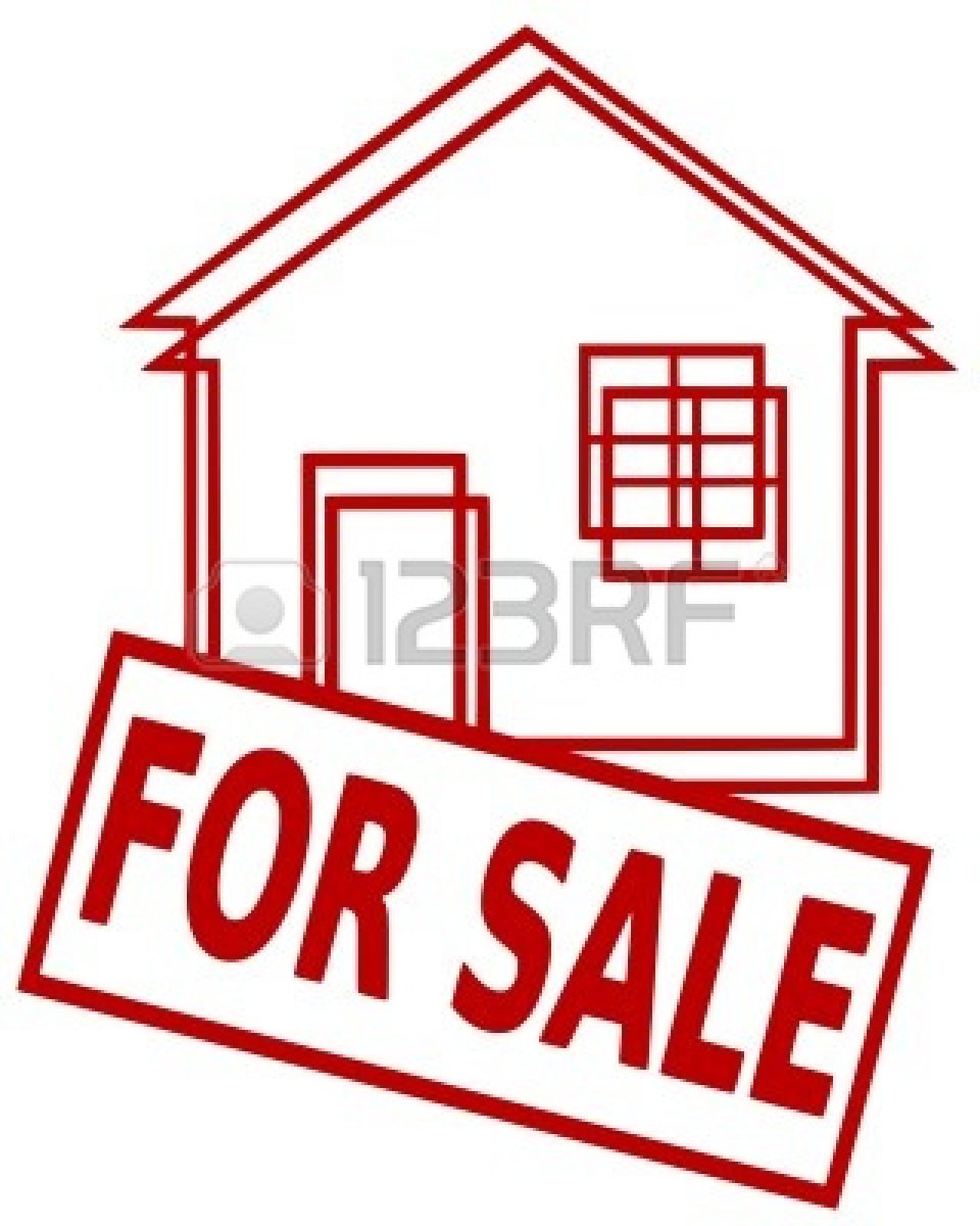 hight resolution of house for sale clipart 7404215 iconic illustration of a house and a sign for sale