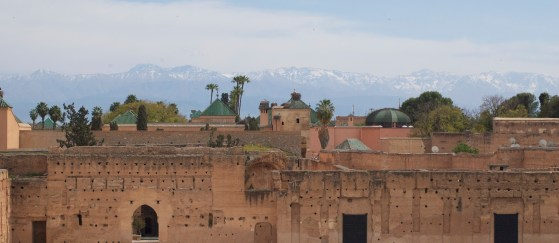 Snow of the Atlas, from Marrakech (MA)