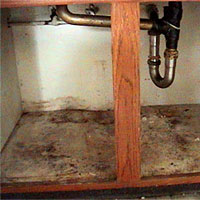 exhaust fans for kitchens handles kitchen drawers buying a new home? look signs of water damage | done ...