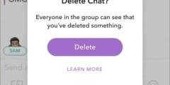 تطبيق سناب شات سوف يسمح لمستخدميه بعمل unsend للرسائل