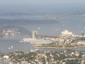 Sydney from the air 2/28/17