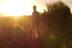 The Aboriginal dancer