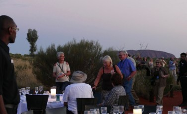 Sounds of Silence dinner at Uluru-Kata Tjuta