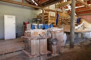 The Sheep Shearing Shed