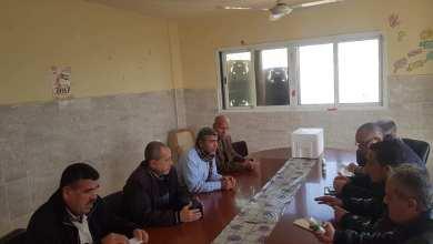 Photo of زراعة شمال غزة تنظم جولة ارشادية لبحث اليات استخدام العناكب المفترسة في مزارع الفراولة