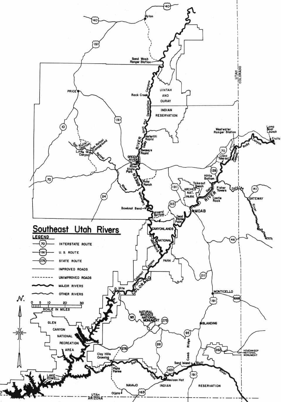 Moab Utah Map