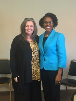 Branson Mayor Karen Best and Joplin City Councilwoman and NLC President Melodee Colbert-Kean champion the value and importance of afterschool in their cities and throughout Missouri.